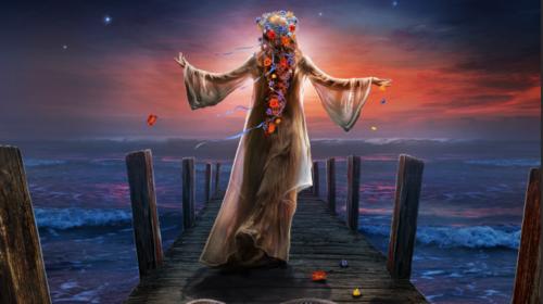 Sirenia - Arcane Astral Aeons - Album Cover