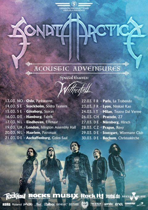 Sonata Arctica - Whiterfall - Acoustic Adventures - Tour 2019 - Promo