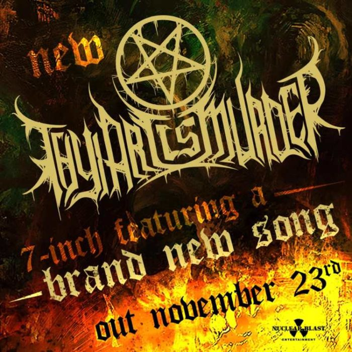 Thy Art Is Murder - Nuovo Singolo In Vinile