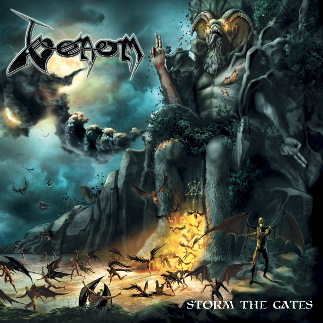 Venom - Storm The Gates - Album Cover