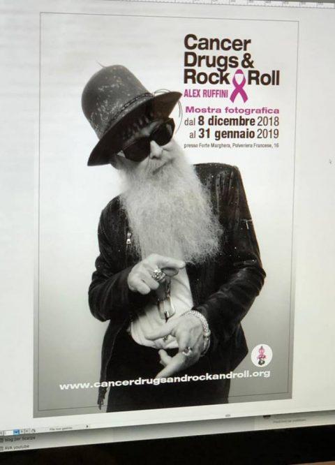 Alex Ruffini - Cancer Drugs And Rock And Roll - Locandina Foto
