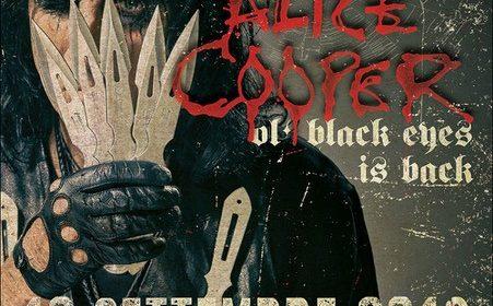 Alice Cooper - Pala Alpitour - Tour 2019 - Promo