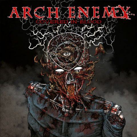 Arch Enemy - Covered In Blood - Album Cover