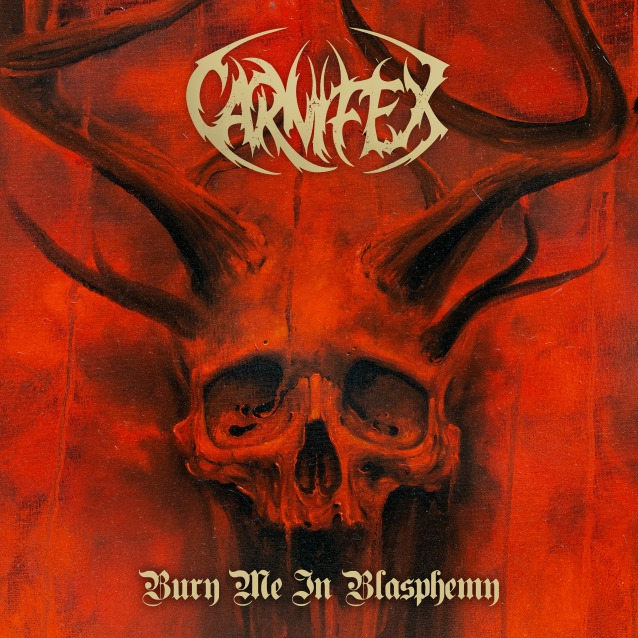 Carnifex - Bury Me In Blasphemy - EP Cover