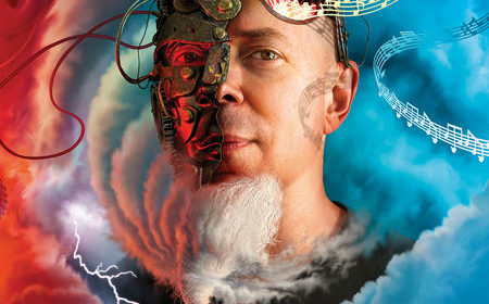 Jordan Rudess - Wired For Madness - Album Cover