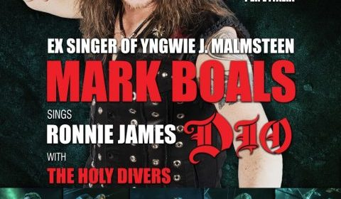 Mark Boals - The Holy Divers - Santomato Live Club - Live 2019 - Promo