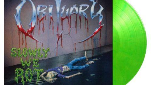 Obituary - Slowly We Rot - Album Cover