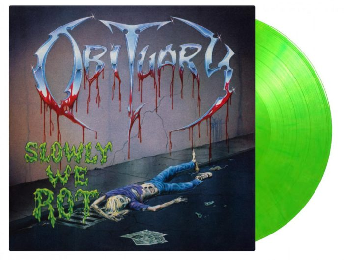 Obituary - Slowly We Rot - Album Cover