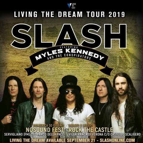 Slash Featuring Myles Kennedy And The Conspirators - Leaving The Dream - Tour 2019 - Promo