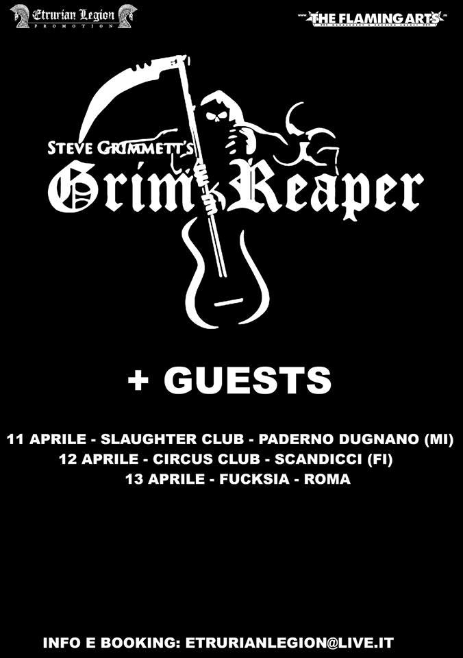Steve Grimmett - Grim Reaper - Tour 2019