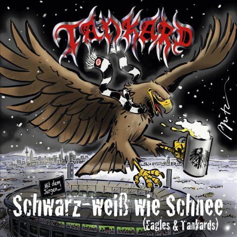 Tankard - Schwarz Weiß Wie Schnee - Single Cover