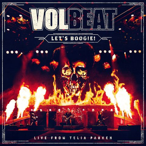 Volbeat - Let's Boogie Live From Telia Parken - Album Cover