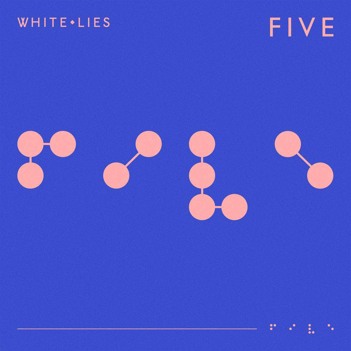 White Lies - Five - Album Cover