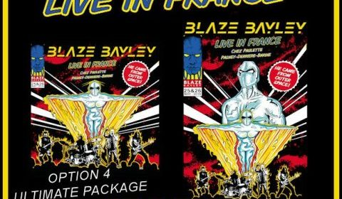 Blaze Bayley - Live In France - Album Cover