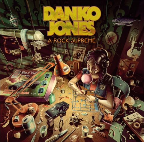 Danko Jones - A Rock Supreme - Album Cover