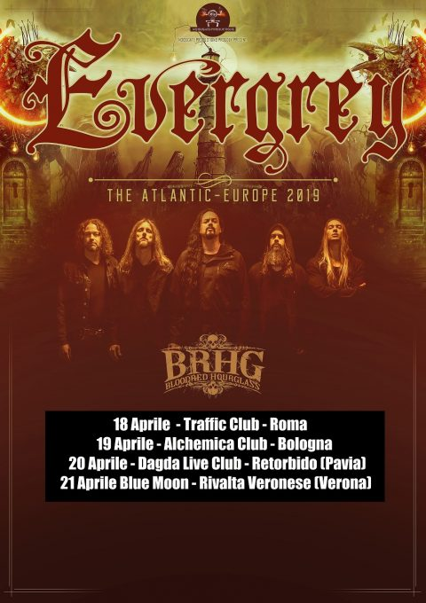 Evergrey - The Atlantic Europe 2019 - Promo