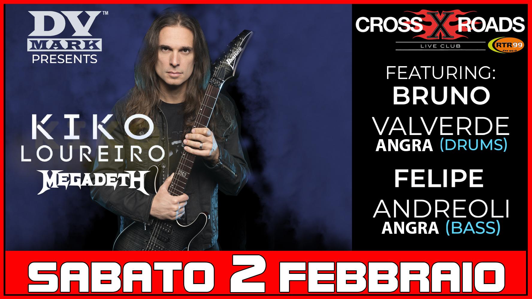 Kiko Loureiro - Bruno Valverde - Felipe Andreoli - Crossroads Live Club - Live 2019 - Promo
