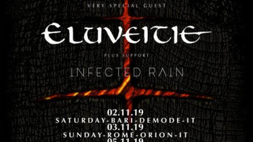 Lacuna Coil - Eluveitie - Infected Rain - Autumn Tour 2019 - Promo