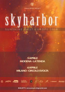 Skyharbor - 2 date ad aprile 2019