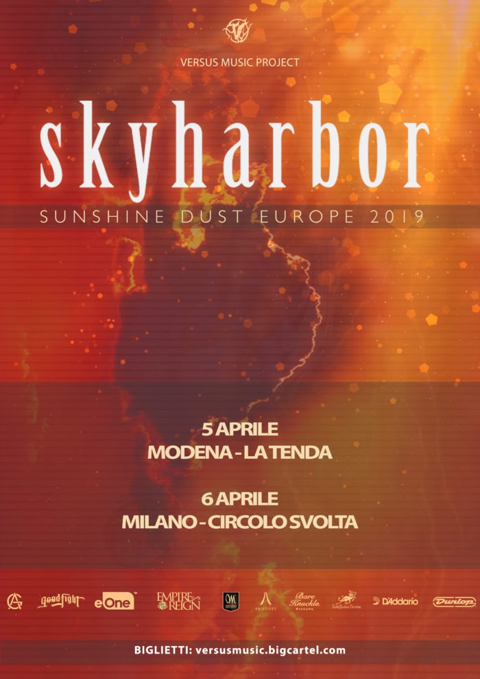 Skyharbor - Sunshine Dust Europe Tour 2019 - Promo