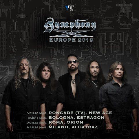 Symphony X - Europe Tour 2019 - Promo