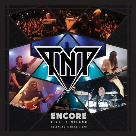 TNT - Encore Live In Milano - Album Cover