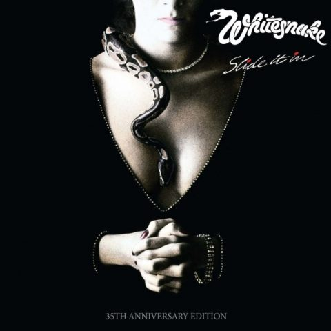 Whitesnake - Slide It In - 35Th Anniversary Deluxe Edition - Album Cover