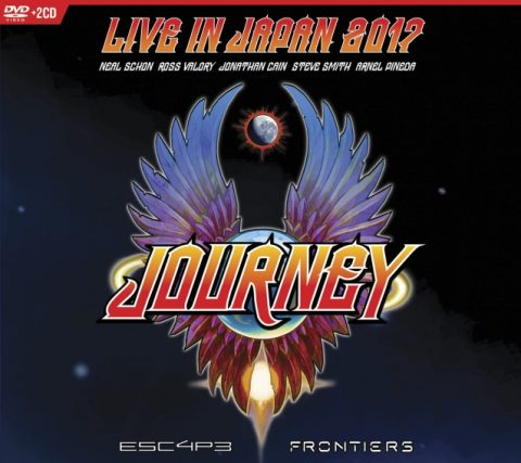 Journey - Live In Japan 2017 - Escape - Frontiers - DVD Cover