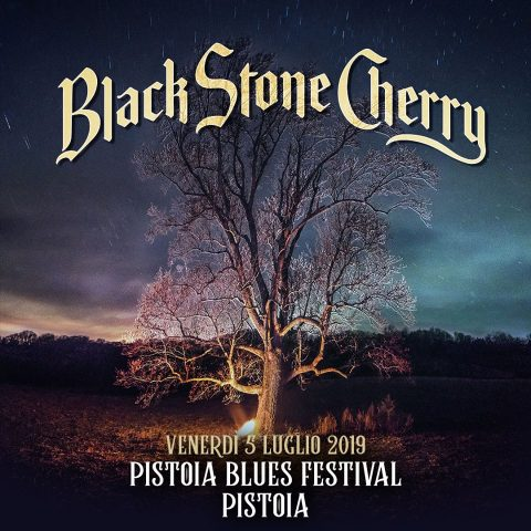 Black Stone Cherry - Pistoia Blues Festival 2019 - Promo