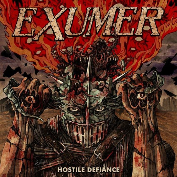 Exumer - Hostile Defiance - Album Cover