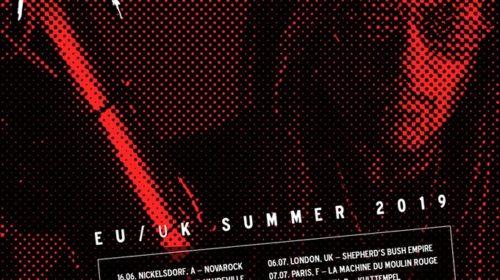Ministry - EU - UK - Summer Tour 2019 - Promo