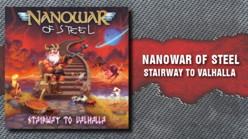 Nanowar Of Steel - Stairway To Valhalla - Album Cover