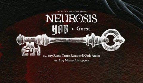 Neurosis - Yob - Tour 2019 - Promo