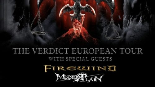 Queensryche - Firewind - Mirrorplain - The Verdict European Tour 2019 - Promo