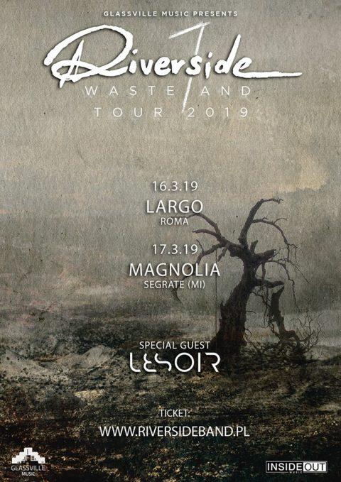 Riverside - Lesoir - Wasteland Tour 2019 - Promo
