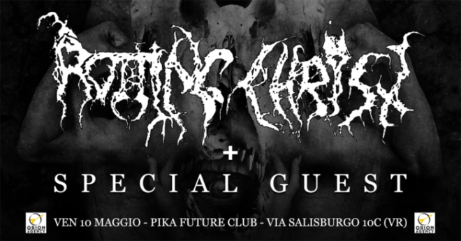Rotting Christ @ Verona @ Pika Future Club