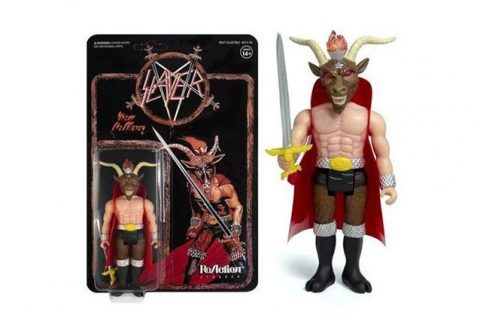 Slayer - Minotauro - Show No Mercy - Action Figure Cover