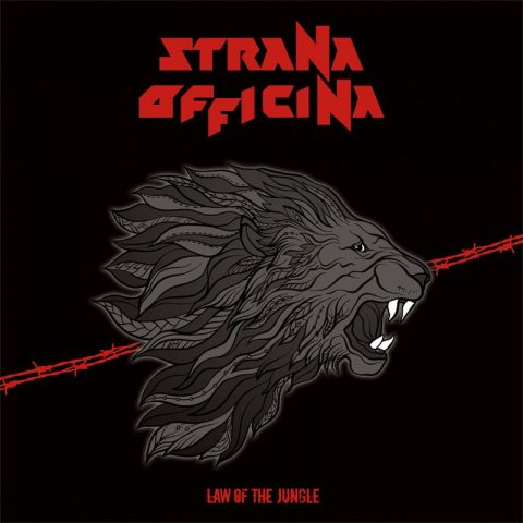 Strana Officina - Law Of The Jungle - Album Cover