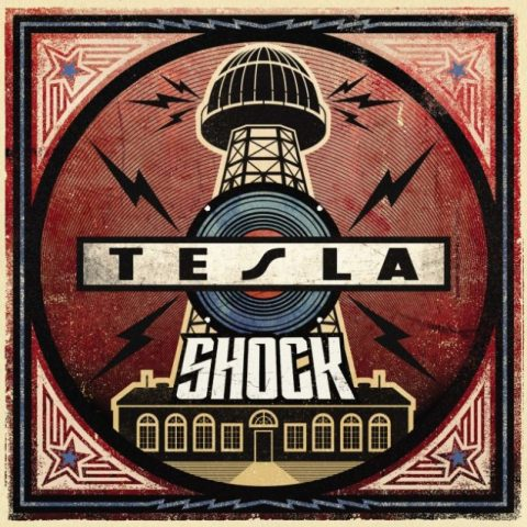 Tesla - Shock - Album Cover
