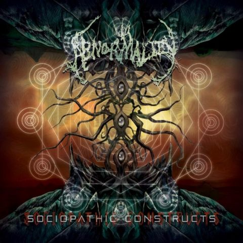 Abnormality - Sociopathic Constructs - Album Cover