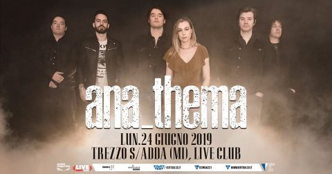 Anathema - Live Music Club - Tour 2019 - Promo