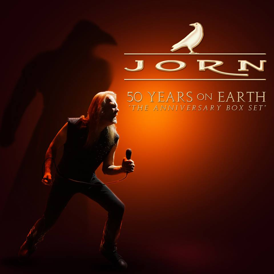Jorn - 50 Years On Earth - Boxset Cover