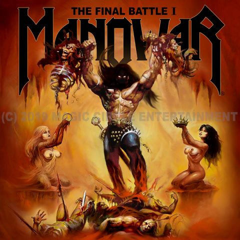 Manowar - The Final Battle - EP Cover