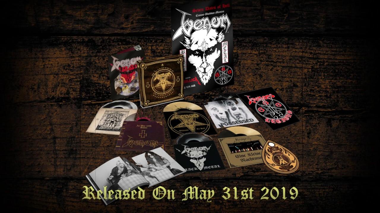 Venom - In Nomine Satanas - Boxset Cover