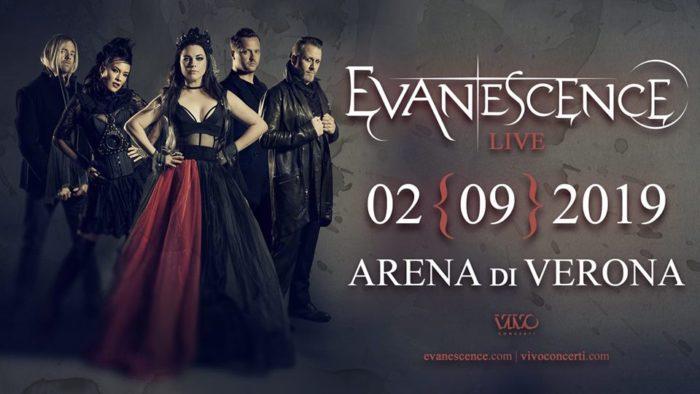 Evanescence - Arena Di Verona - Live 2019 - Promo