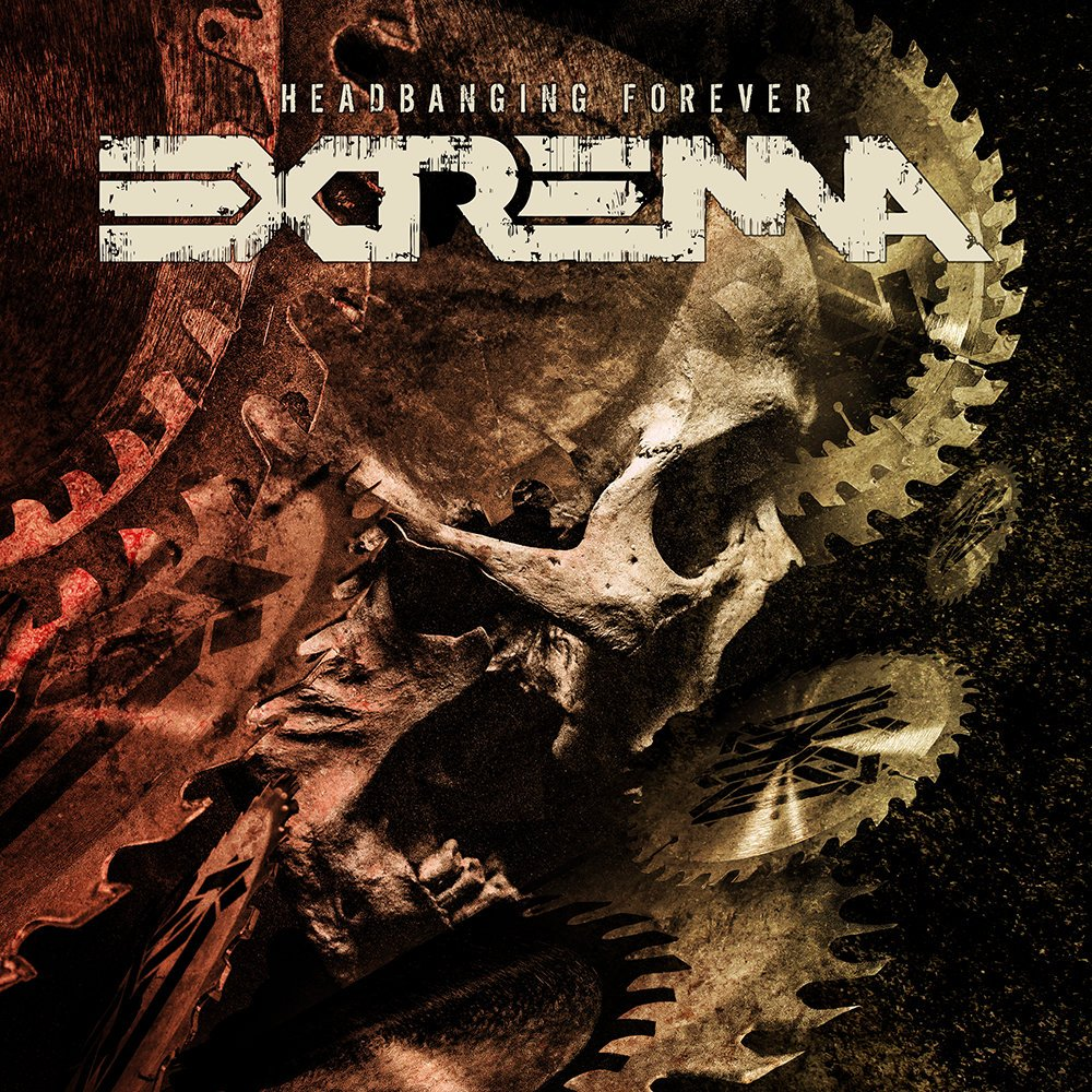 Extrema - Headbanging Forever - Album Cover