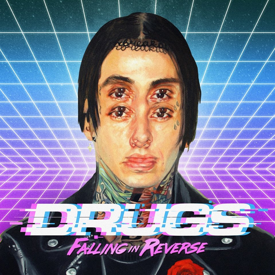Falling In Reverse - Drugs - Single Cover