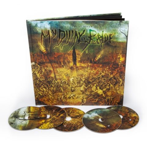 My Dying Bride - A Harvest Of Dread - Album Cover