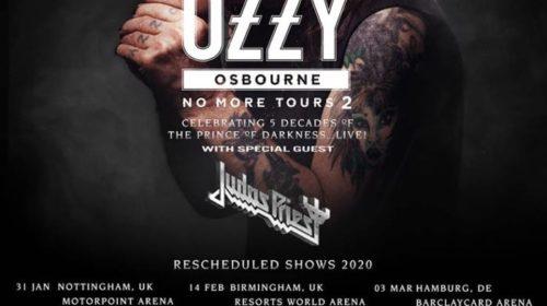 Ozzy Osbourne - Judas Priest - Unipol Arena - No More Tours 2 - 2020 - Promo