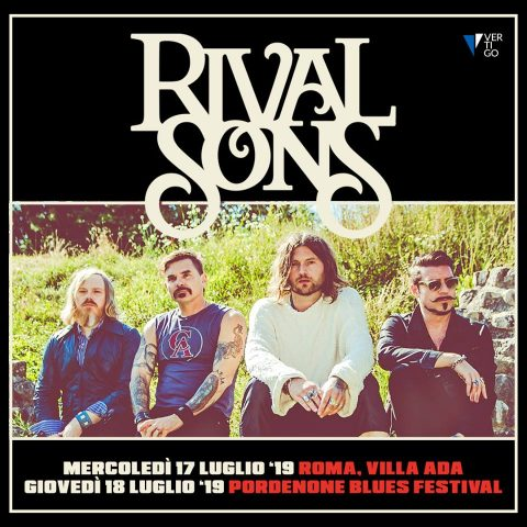 Rival Sons Italian Tour 2019 - Promo